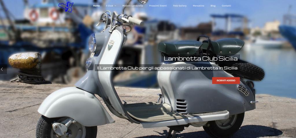 Siti web trapani: lambretta club sicilia
