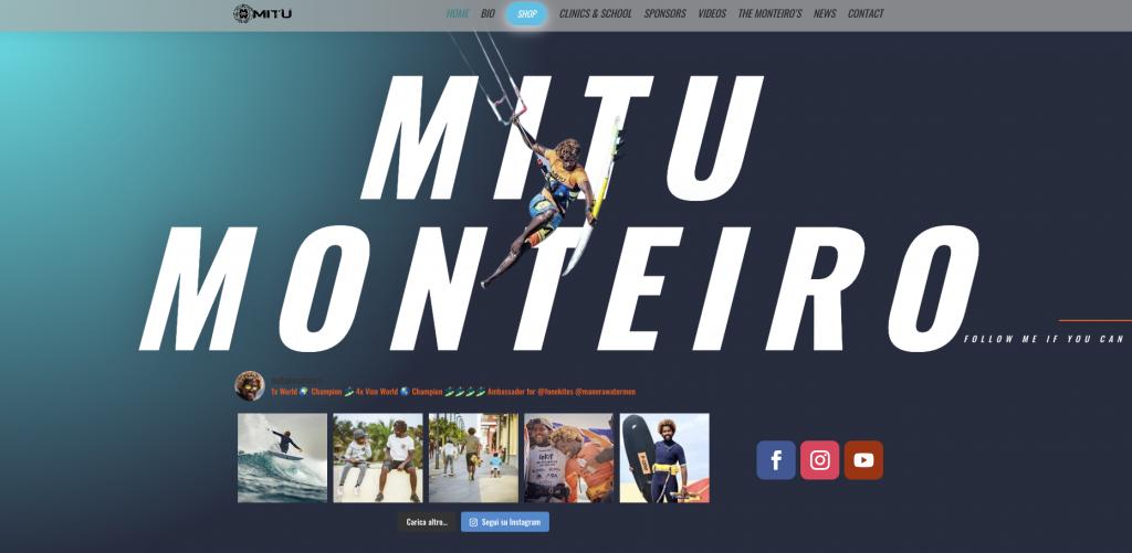 Sito web Mitu Monteiro